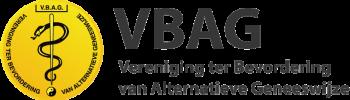 logo VBAG vereniging ter bevordering van alternatieve geneeswijze